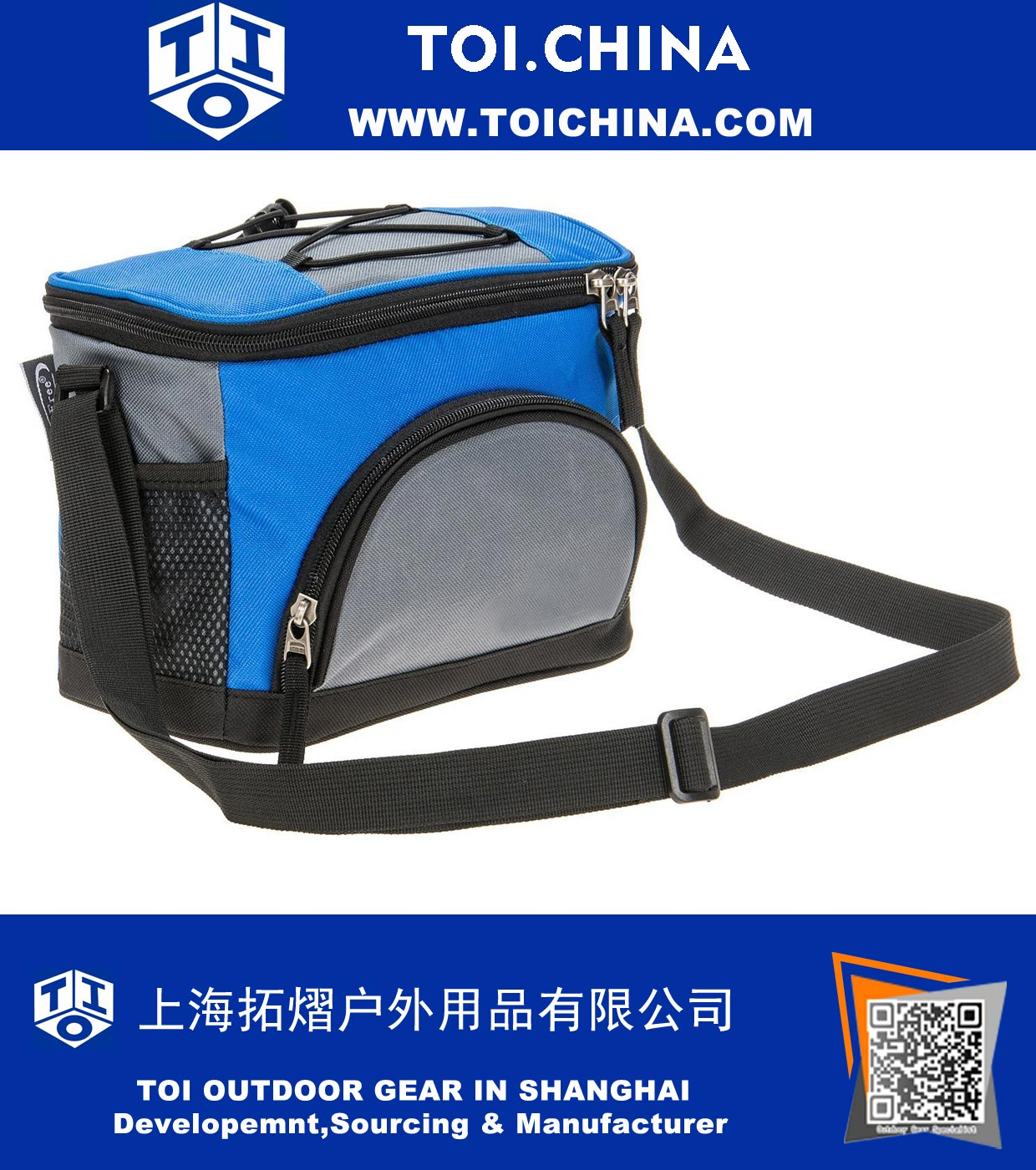 e2298dbcc087 5-6 Can Soft Cooler Lunch Bag for Camping Family Picnics Outdoor Activities School  Kids