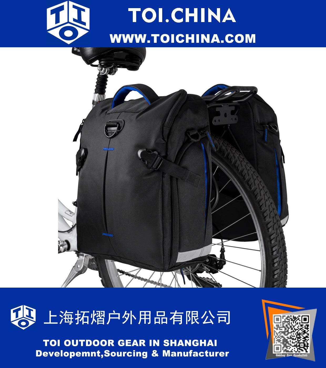 Bike Panniers Taschen (Paar), Große Kapazität, 14 L (jede
