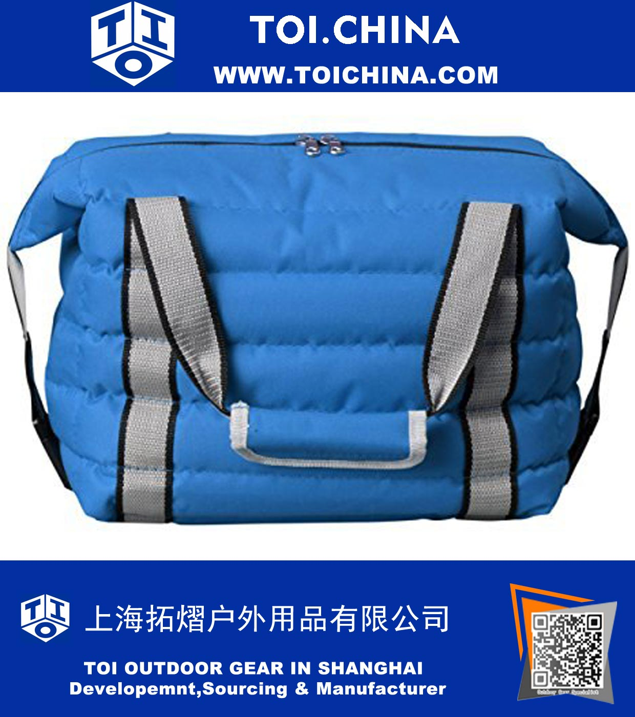 1f6fe3ab3f7d Heavy-Duty Soft Sided Collapsible Cooler Bag - Holds 16 Cans -Lightweight Thermal  Cooler with Thick Lining And Insulation