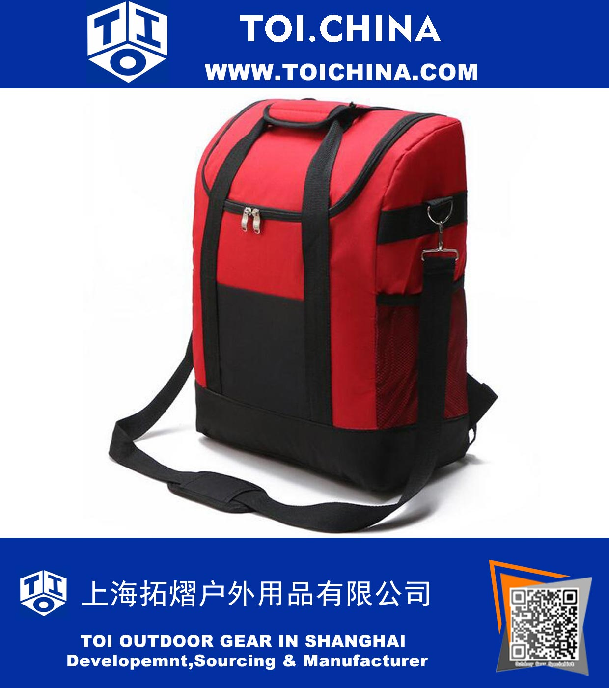 Insulated Cooler Backpack Cooler Bag 22L Large Capacity for Picnic Travel  Hiking Outdoors e225e5498db1e