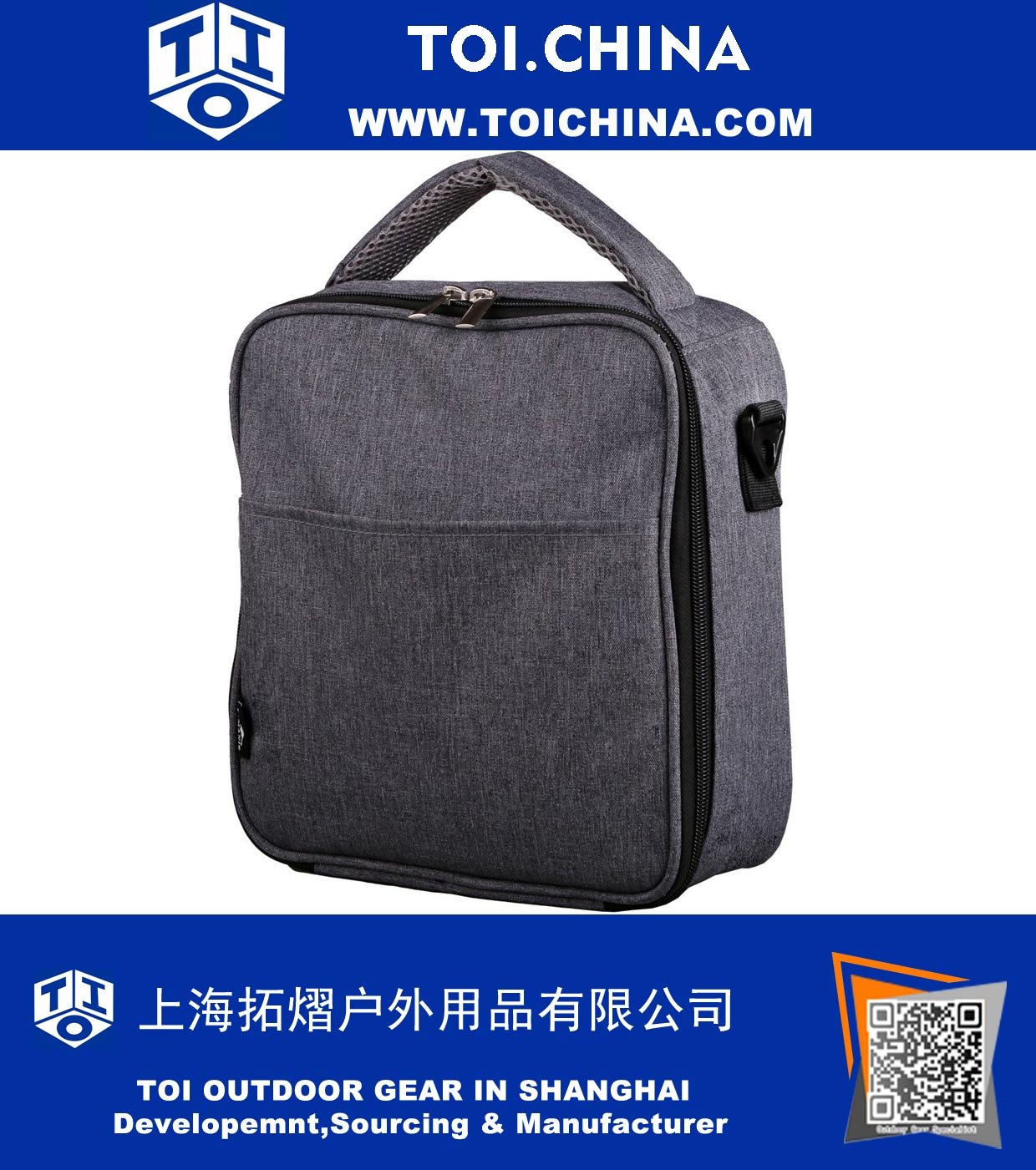 3f701d87b6f Insulated Lunch Bag Lunch Box Cooler Bag with Shoulder Strap, TY-CN085