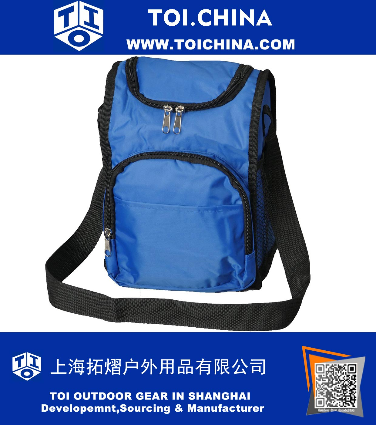 012fc0c8d289 Insulated Lunch Boxes for Boys Girls - Blue Lunch Bags for Kids School  Sack