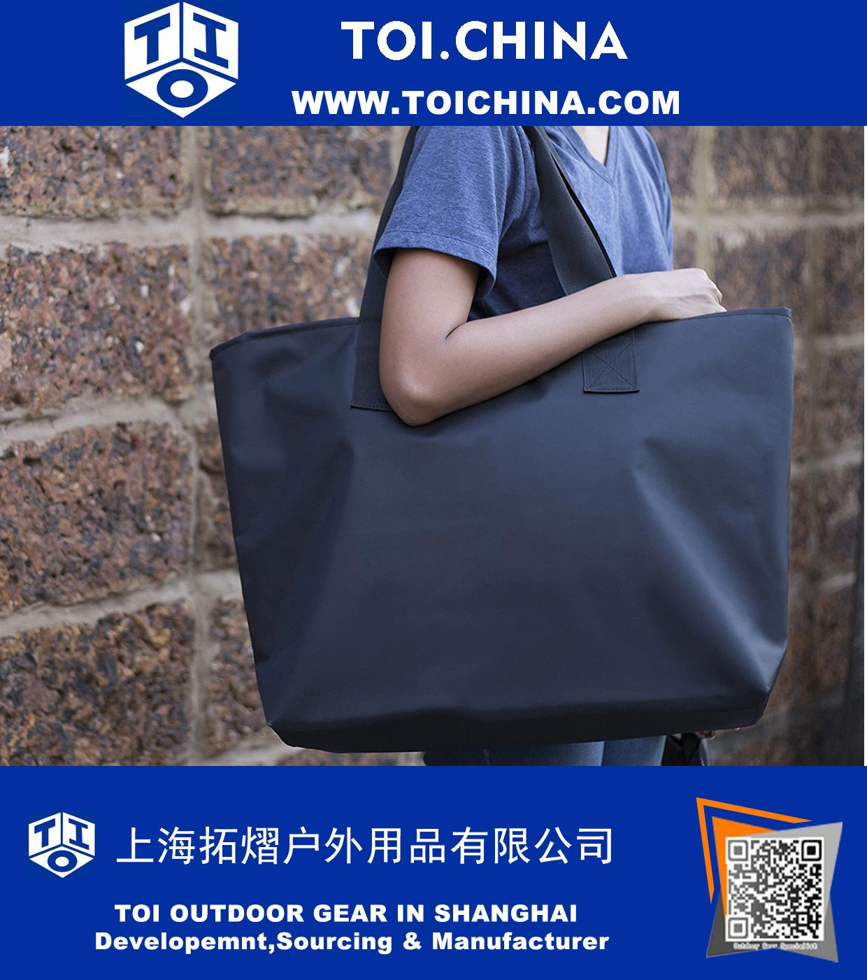 Large Nylon Tote Bag For Shopping bb713a51c6c41