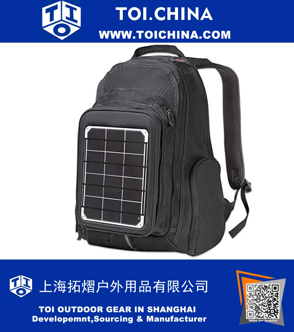 Solar Power Backpacks Ty Sa001 China Supplier Wholesale