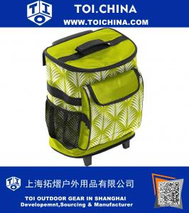 15 Inch Rolling Cooler One Size Green
