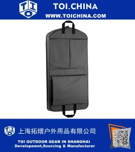 45 Inch Extra Capacity Garment Bag with Pockets