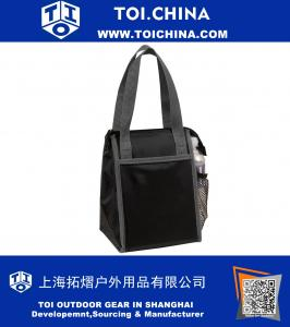 70D Nylon With PVC Backing Insulated Lunch Cooler Bag