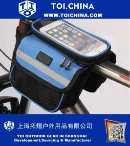 Bicycle Bags Waterproof Touch Screen Bike Saddle Bag Cycling Pannier Bike Top Tube Bags Cycling Equipment Accessories