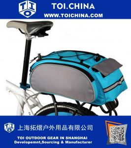 Bicycle Saddl Seatpost Bag Fashion Fixed Gear Fixie Pannier Saddle Rear Rack Seat Bag