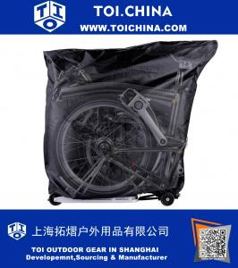 Bicycle Storage Cover with Handlebar Bag For Brompton Bikes