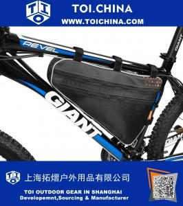 Bicycle Triangle Frame Bag, Bike Top Tube Cycling Corner Pouch