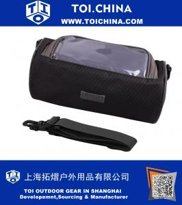 Bike Handlebar Bag with Phone Touch Screen Window Holder Personal Accessories Sling Bag,Waterproof