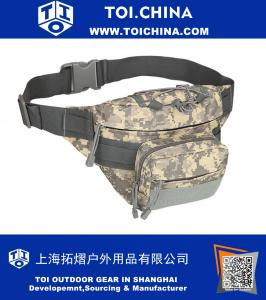 Camo Waist Bag Military Tactical - Running Hiking Climbing Cycling Relax Pockets for Men and Women