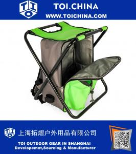 Camping Stool Backpack Cooler