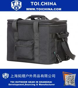 Cooler Bag 30L Large Capacity 24 can Water Resistant Insulated Bag Aluminum Foil liner with insulation board