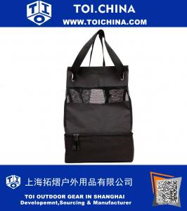Cooler Tote Backpack with Mesh