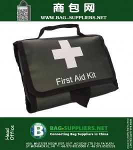 First Aid Kit Auto, Be Always Prepared and Ready to Use in Your Car, 100 pieces Medical Kit, Travel Emergency Kit, Hiking First Aid Kit, Emergency Survival Go Bag