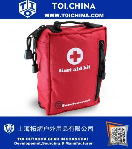 First Aid Kit for Hiking, Backpacking, Camping, Travel, Car And Cycling. With Waterproof Laminate Bags