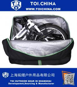 Folding Bike Carry Bag 16 inch to 20 inch Cycling Carrying Travel Case for Car