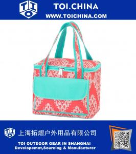 High Fashion Print Collapsible Soft Cooler Bag Tote