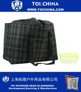 Insulated Lunch Bag, Large Cooler Tote Lunch Box For Outdoor Picnic Travel