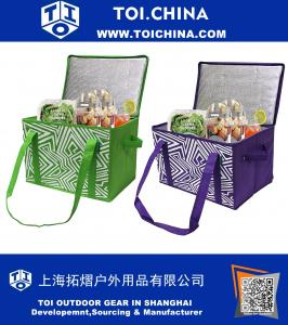 Insulated Reusable Grocery Bag Shopping Box