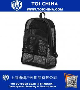 Mesh School Backpack