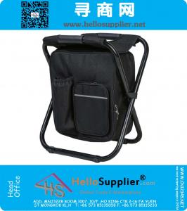 Multi-Function Backpack Foldable Chair with Cooler Bag for Fishing, Beach, Camping and Outing