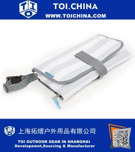 Portable Diaper Changing Pad With Detachable Bag