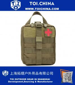 Tactical MOLLE Rip Away EMT Medical First Aid Utility Pouch 1000D Nylon